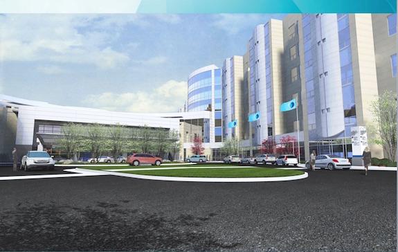 vidant-cancer-center-entrance