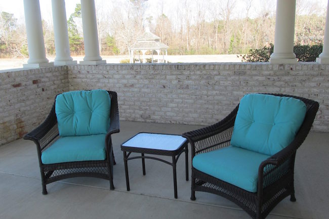 ... Reupholster Patio Chairs