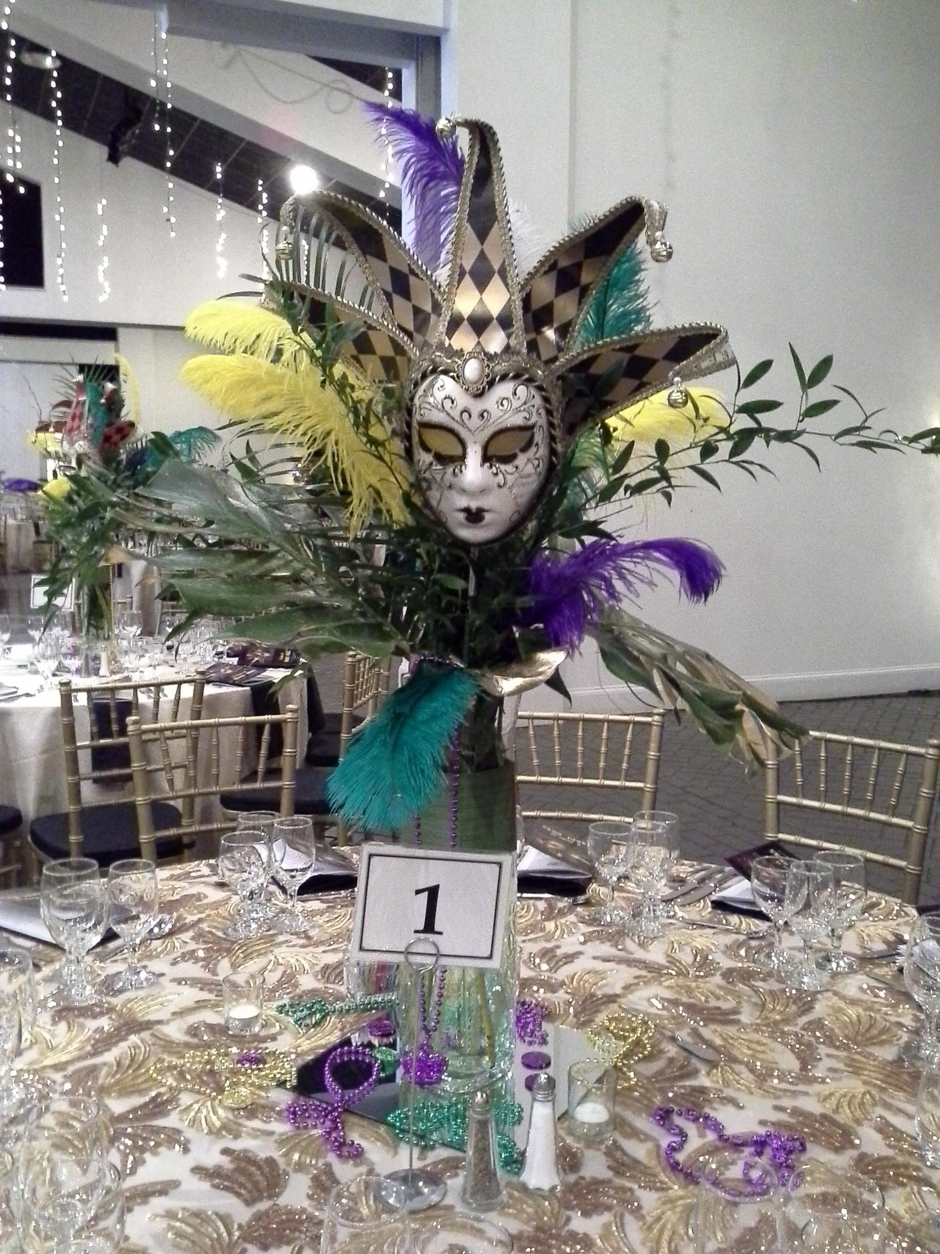 adding  u201ca taste of mardi gras u201d decorations to our charity ball