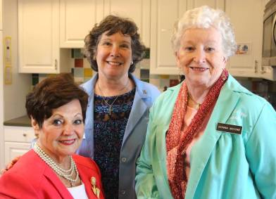 Betty leRoux, Cassie Causey, & Donna Moore Hope Lodge