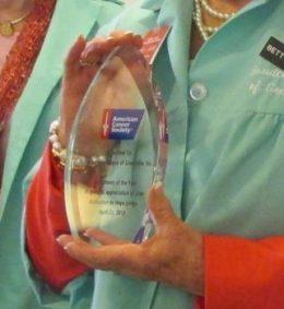 Group award Hope Lodge
