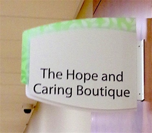 Hope & Caring sign sm