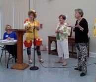 """Danette Pugh shares a 'getting to know you"""" chat with SLG members Betty Bailey and Linda Robertson"""