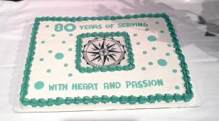 ML 2018 - 80 yrs cake