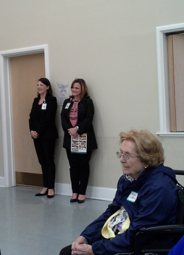 Bobbie Lapiejko, Director Annual Giving & Crystal Corbett, Major Gift Officer & Martha Coffman