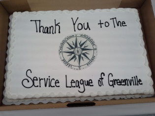 Thank you cake from Vidant