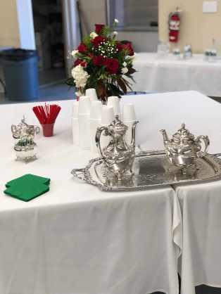 Connie Bond's silver set