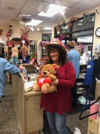 Carol Frey, Gift Shop Manager